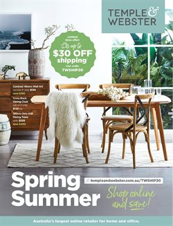 Offers from Temple & Webster in the Sydney NSW catalogue
