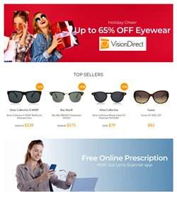 Vision Direct catalogue ( Expired )
