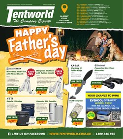 Tentworld specials in the Tentworld catalogue ( 22 days left)