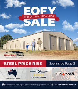 DIY & Garden specials in the Wide Span Sheds catalogue ( 2 days left)