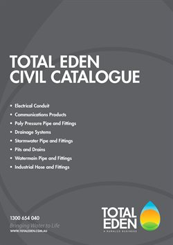 Offers from Total Eden in the Perth WA catalogue