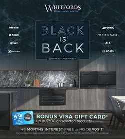 Offers from Whitfords in the Sydney NSW catalogue