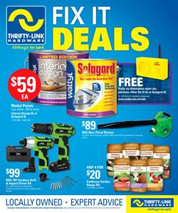 Offers from Thrifty Link in the Dorrigo NSW catalogue