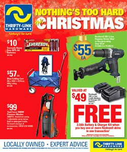 Offers from Thrifty Link in the Sydney NSW catalogue