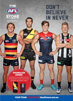 The AFL Store catalogue ( Expired )