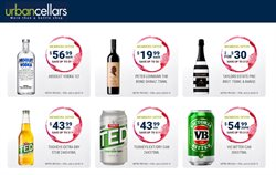 Offers from Urban Cellars in the Brisbane QLD catalogue