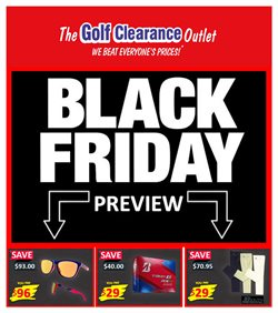 The Golf Clearance Outlet catalogue ( 5 days left )