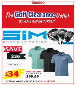 The Golf Clearance Outlet catalogue ( 3 days ago )