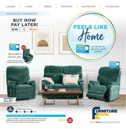 Furniture Zone specials in the Furniture Zone catalogue ( 16 days left)