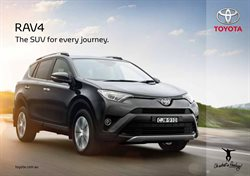 Offers from Toyota in the Sydney NSW catalogue
