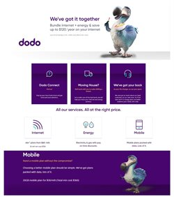 Offers from Dodo in the Melbourne VIC catalogue