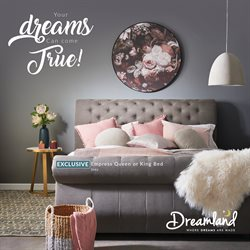 Offers from Dreamland in the Adelaide SA catalogue