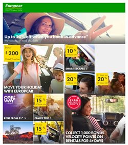 Travel & Leisure specials in the EuropCar catalogue ( 11 days left)