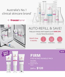 Pharmacy, Beauty & Health specials in the Freeze Frame catalogue ( 5 days left)