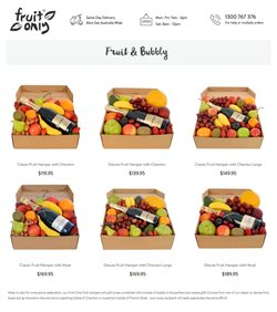 Fruit Only catalogue ( 17 days left )