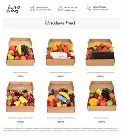 Supermarkets offers in the Fruit Only catalogue in Sydney NSW ( 24 days left )