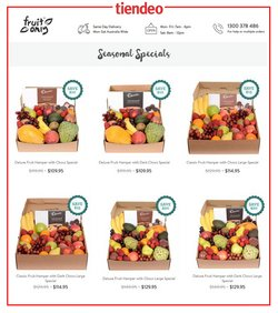 Fruit Only catalogue ( 6 days left )