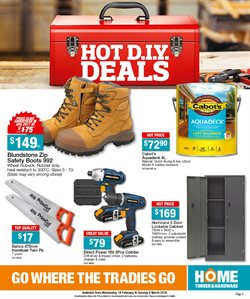 Garden, Tools & Hardware offers in the Home Timber & Hardware catalogue in Kingaroy QLD