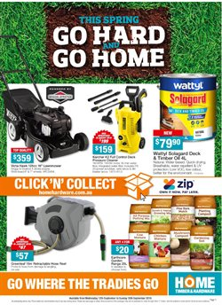 Garden, Tools & Hardware offers in the Home Timber & Hardware catalogue in Adelaide SA