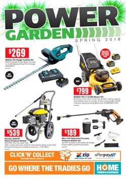 Garden, Tools & Hardware offers in the Home Timber & Hardware catalogue in Newman WA