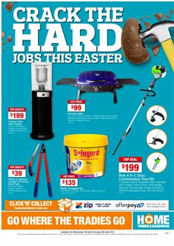 Offers from Home Timber & Hardware in the Perth WA catalogue