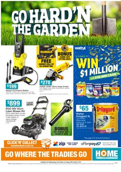 Offers from Home Timber & Hardware in the Gold Coast QLD catalogue
