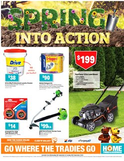 DIY & Garden offers in the Home Timber & Hardware catalogue ( Expires tomorrow )