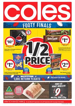 Chadstone Shopping Centre offers in the Coles catalogue in Melbourne VIC