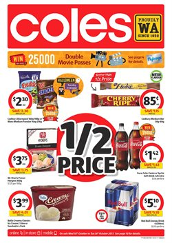 Grocery offers in the Coles catalogue in Rockingham WA