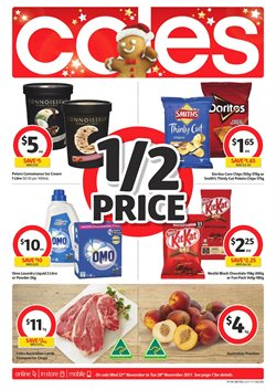 Offers from Coles in the Bendigo VIC catalogue