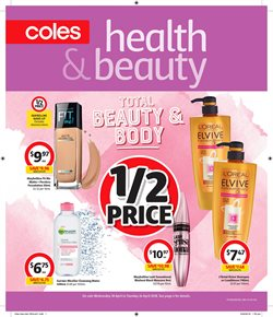 Offers from Coles in the Sydney NSW catalogue
