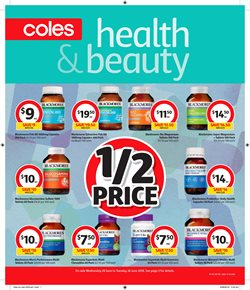 Grocery offers in the Coles catalogue in Bendigo VIC