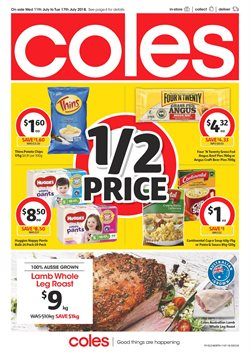 Offers from Coles in the Yeppoon QLD catalogue