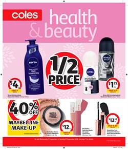 Offers from Coles in the Sandstone Point QLD catalogue