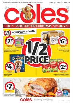 Coles christmas gift ideas catalogue