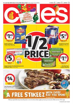 Offers from Coles in the Gold Coast QLD catalogue