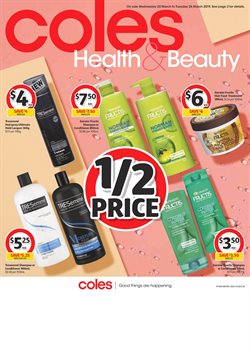 Offers from Coles in the Mandurah WA catalogue