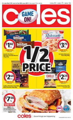 Offers from Coles in the Newcastle NSW catalogue