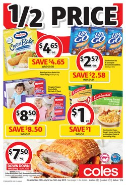 Supermarkets offers in the Coles catalogue in Newcastle NSW