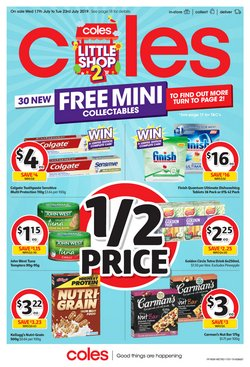 Supermarkets offers in the Coles catalogue in Salamander Bay NSW