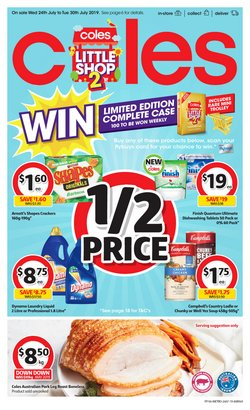 Offers from Coles in the Beverley WA catalogue