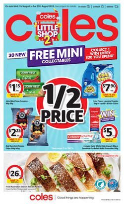 Supermarkets offers in the Coles catalogue in Adelaide SA