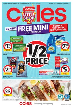 Offers from Coles in the Perth WA catalogue