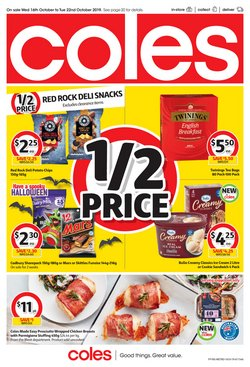 Supermarkets offers in the Coles catalogue in Hobart TAS