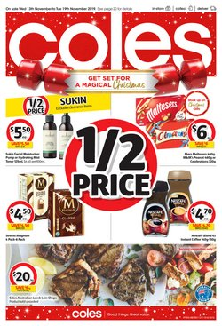 Supermarkets offers in the Coles catalogue in Launceston TAS