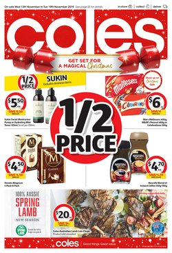 Supermarkets offers in the Coles catalogue in Traralgon VIC