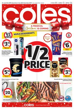Offers from Coles in the Brisbane QLD catalogue