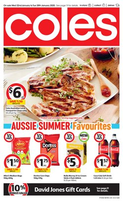 Supermarkets offers in the Coles catalogue in Sydney NSW