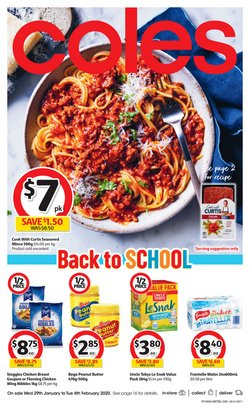 Coles catalogue ( Published today)