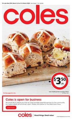 Coles catalogue ( Expires tomorrow )